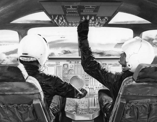 B-1A Cockpit Concept