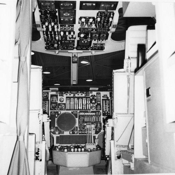 B-1A Cockpit Mockup 1