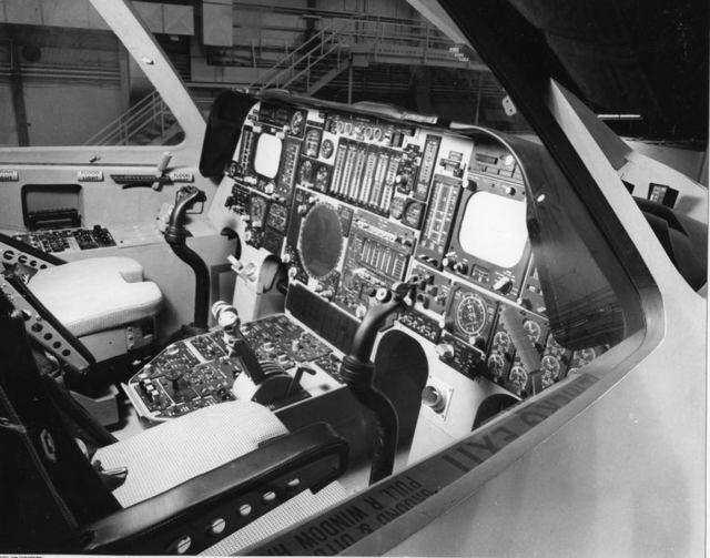 B-1A Cockpit Mockup 2