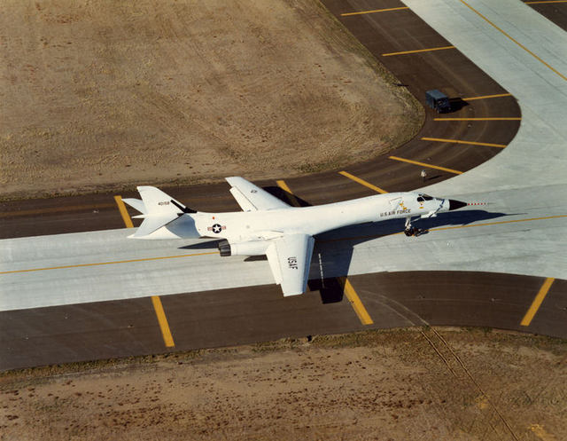 B-1A from Tower