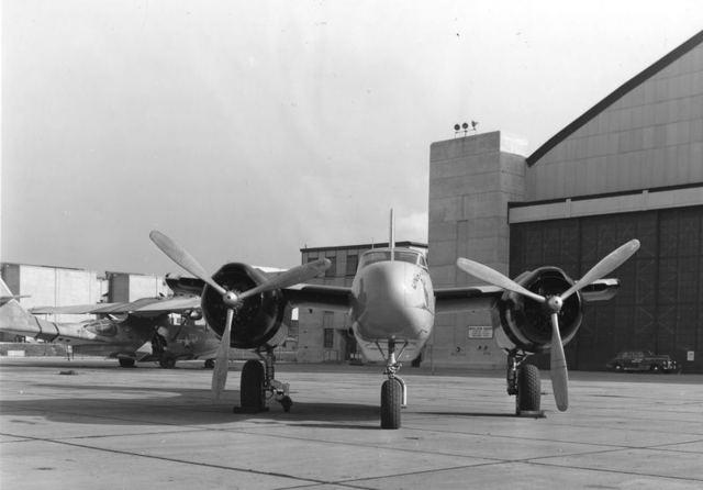 B-26 Taxi Test