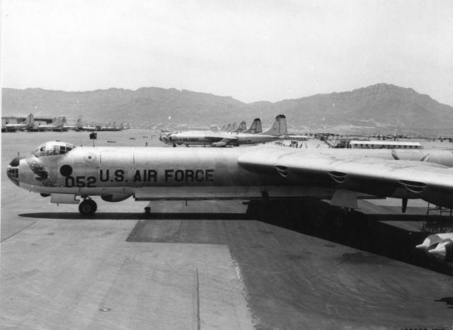 B-36 at Biggs