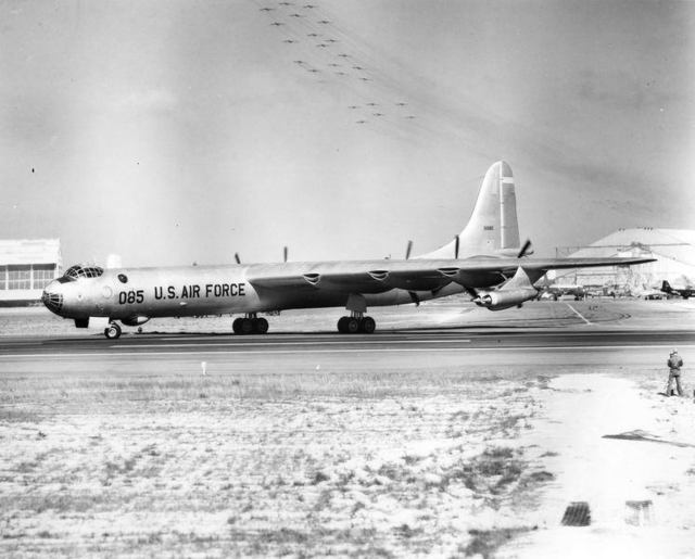 B-36 at Eglin 3