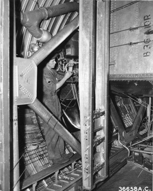 B-36 Bomb Bay 1