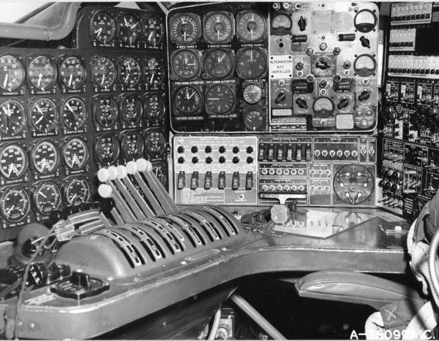 B-36 Cockpit 1