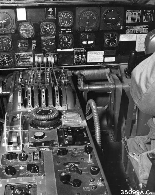 B-36 Cockpit 2