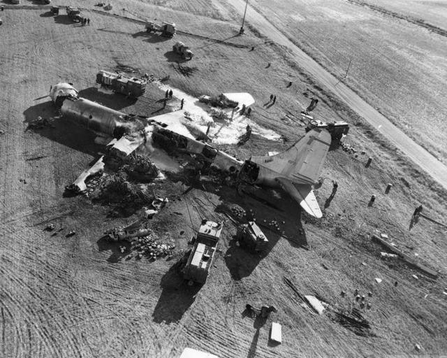 B-36 Crash in Denver