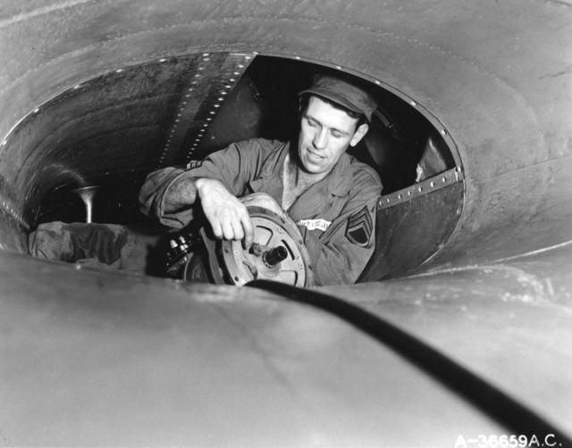 B-36 Engine Catwalk