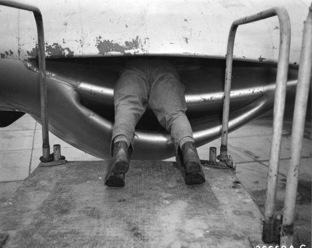 Всасывание двигателя B-36