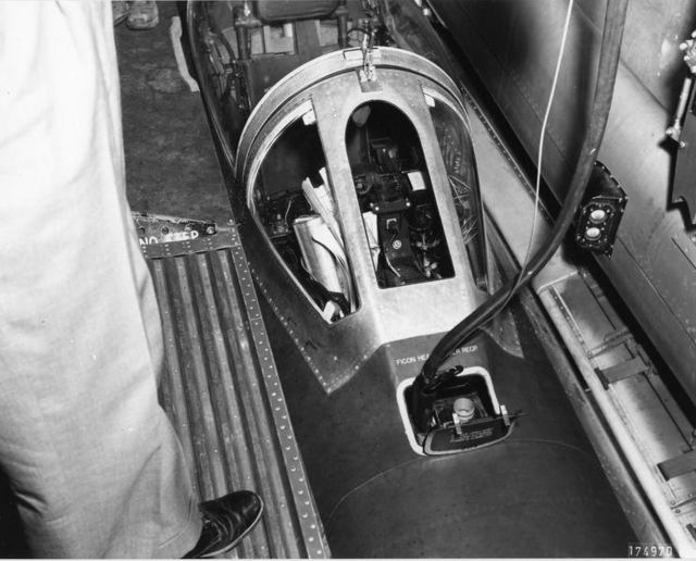 B-36 FICON in Bomb Bay