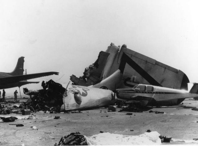 B-36 Kirtland Crash 1