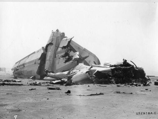 B-36 KIRTLAND CRASH 2a
