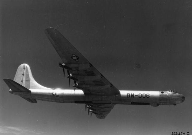 B-36 Open Bomb Bays 1