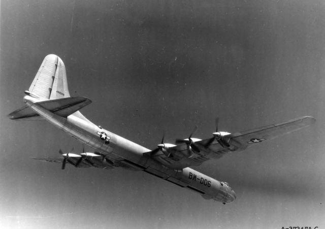 B-36 Open Bomb Bays 2