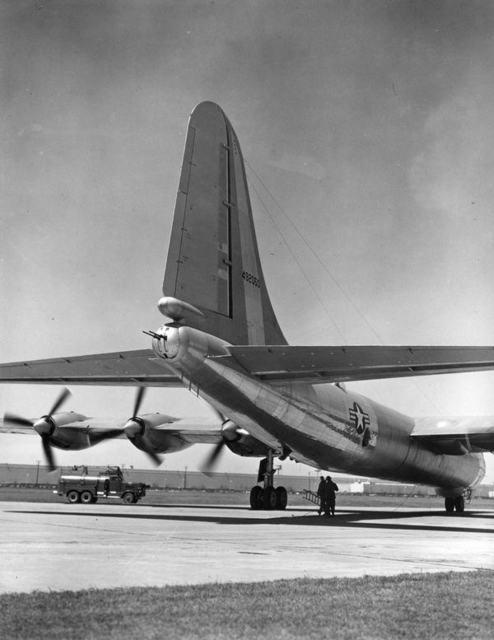 B-36 Rear Quarter