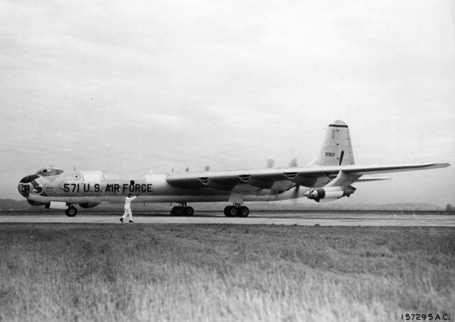 B-36 USAFM Arrival