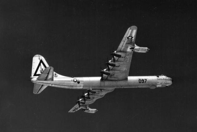 B-36D Below