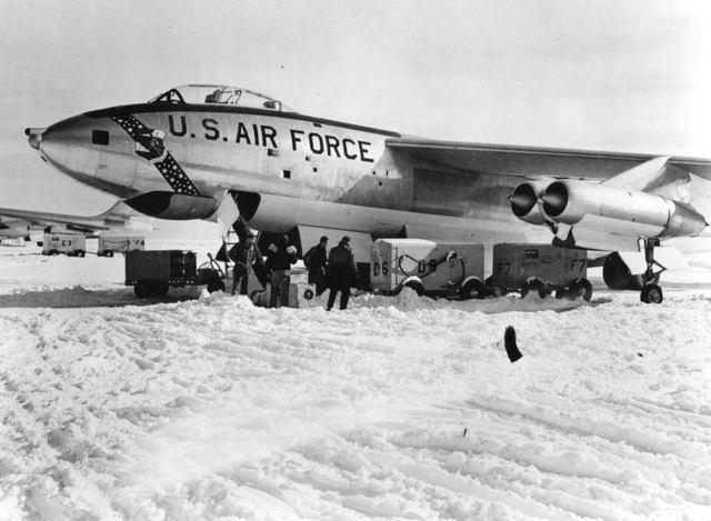 B-47 in Snow