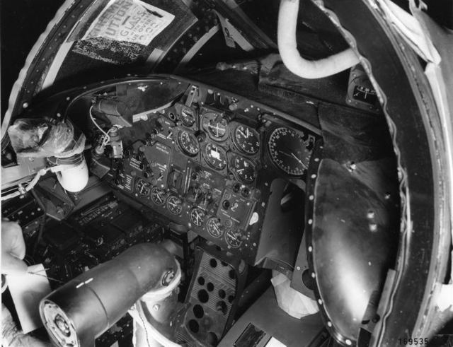 B-47 Interior  Pilots Panel
