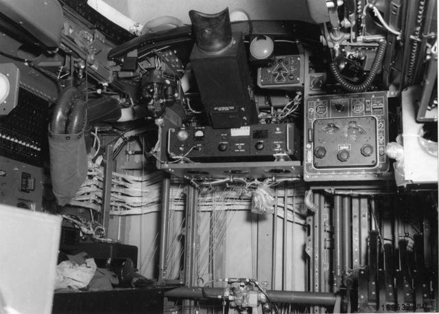 B-47 Interior Tail Guns Station