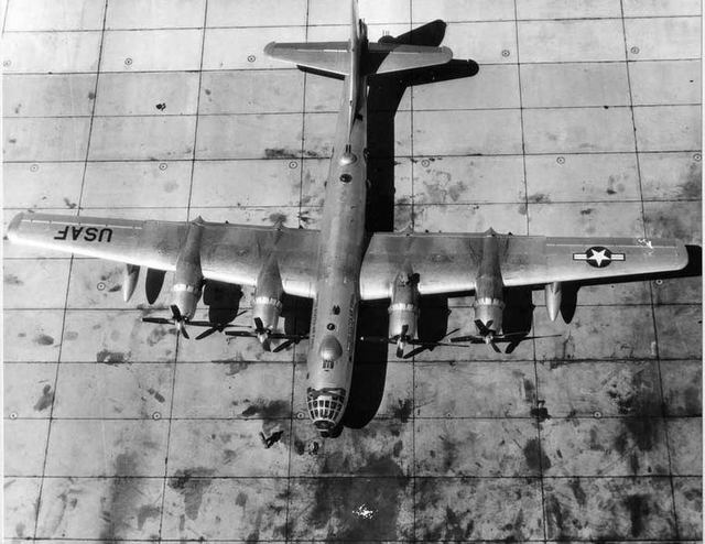 B-50 Top View