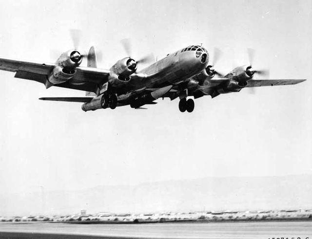 B-50 with RASCAL 1