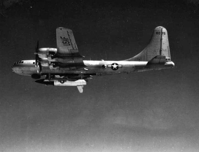 B-50 with RASCAL 2