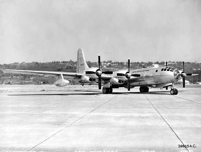 B-50D With Guns