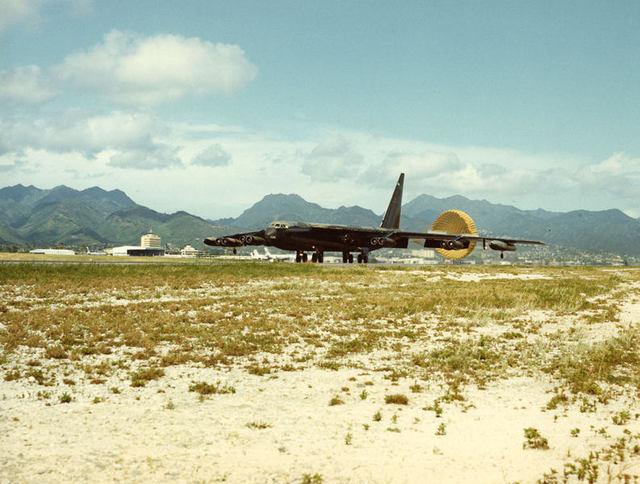 B-52 at Hickam 1
