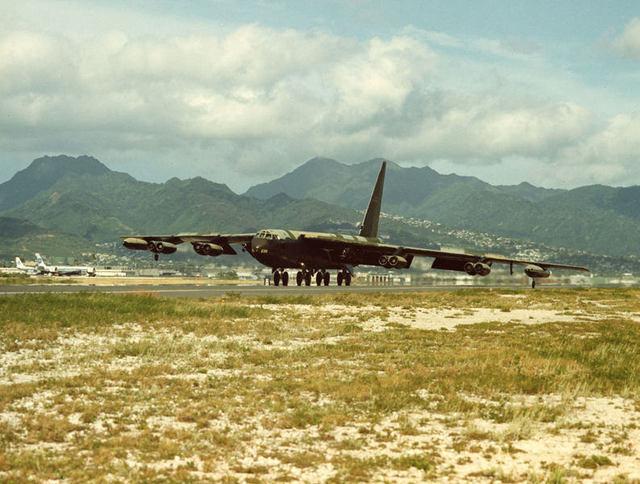 B-52 at Hickam 2