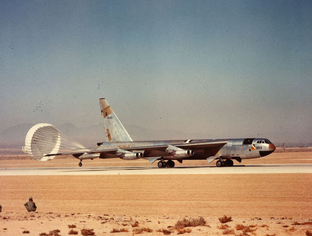 B-52 Early 003 at Edwards