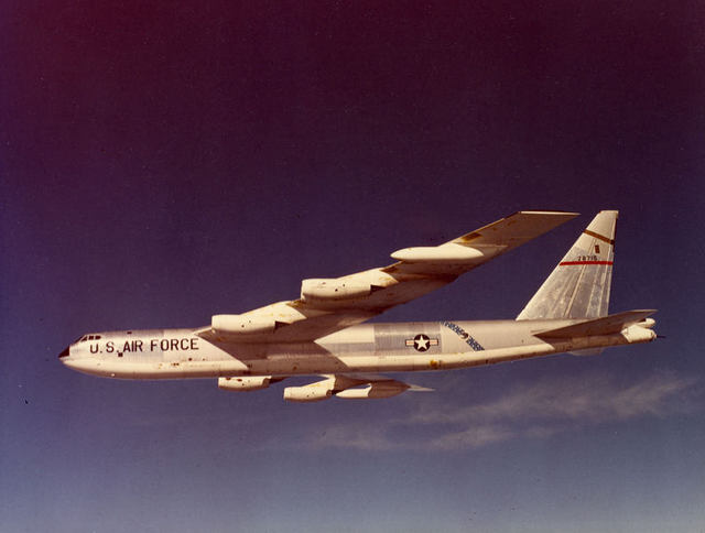 B-52 with SAC Stripe