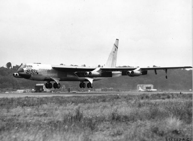 B-52A First Flight