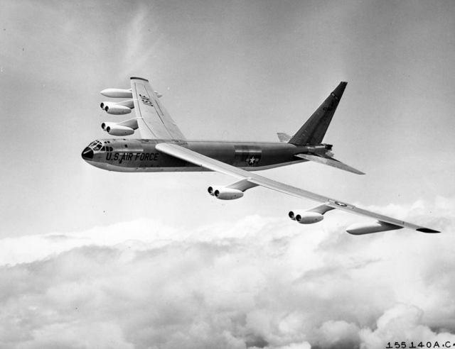 B-52C In FLight