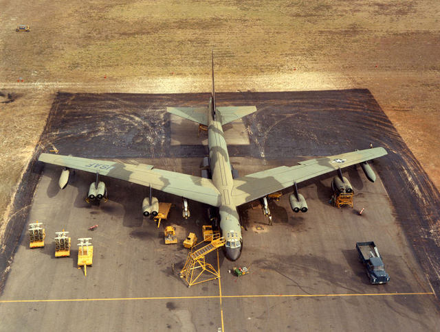 B-52D High Angle Front