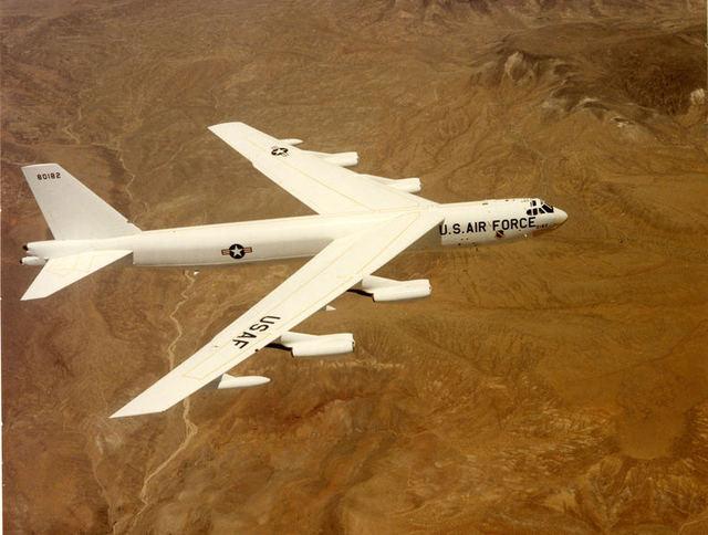 B-52G All White