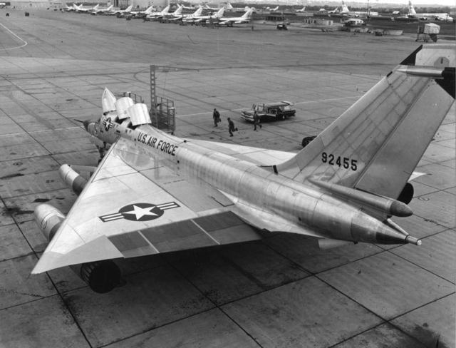 B-58 at Carswell 1