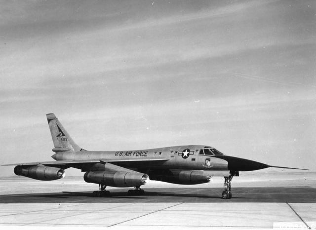 B-58 at Edwards 1