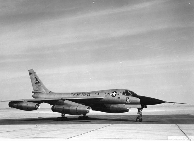 B-58 at Edwards 1