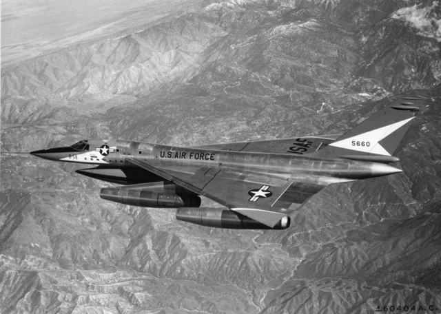 B-58 In Flight 1