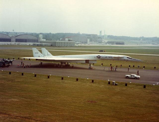 B-70 в WPAFB