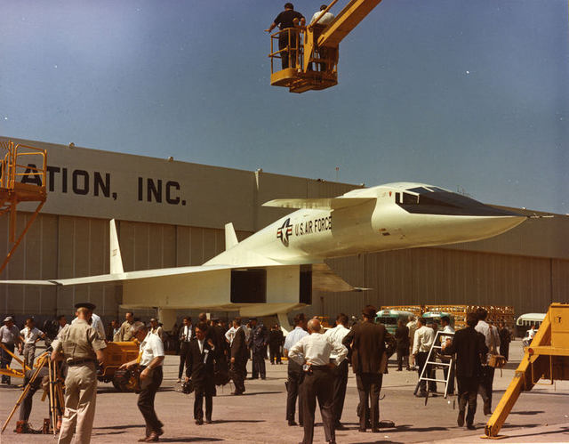 B-70 Roll Out 3