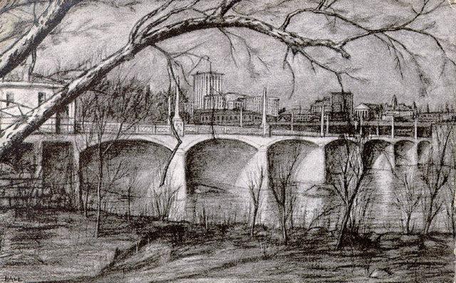 Mayo's Bridge [no title]