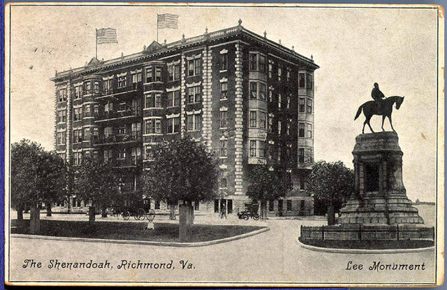 Shenandoah, The; Lee Monument, Richmond, Va.