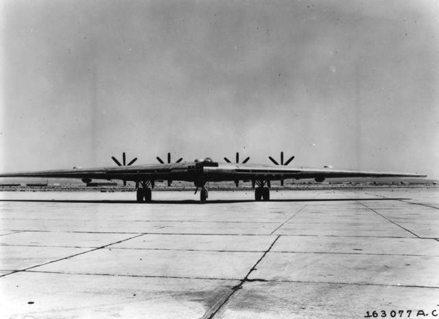 XB-35 Ground Muroc 2
