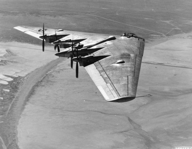 XB-35 In Flight Muroc 2