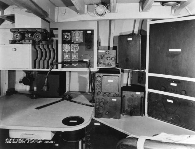 XB-35 Navigator Mockup