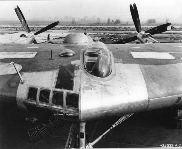 XB-35 Nose Close Up