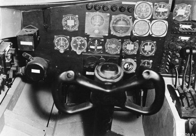 XB-35 Pilot Cockpit Mockup