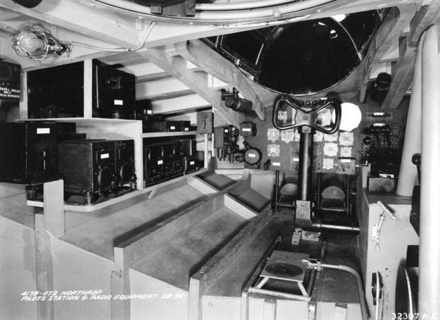 XB-35 Radio Eqpt Mockup